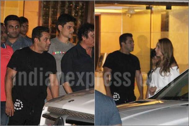 salman iulia party, salman iulia ahil, salman khan girlfriend, salman iulia image