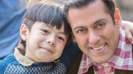 Tubelight behind-the-scenes: Salman Khan loves Matin Rey Tangu, calls him 'ajooba'. Watch video