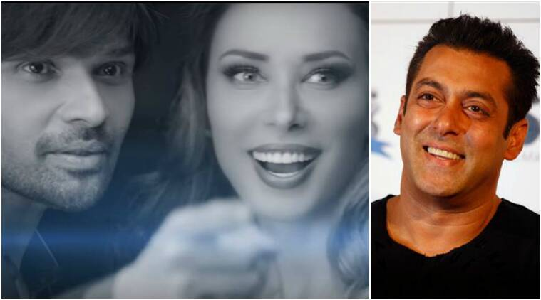 salman khan, Himesh Reshammiya, Iulia Vantur, Every Night and Day, salman iulia himmesh pic