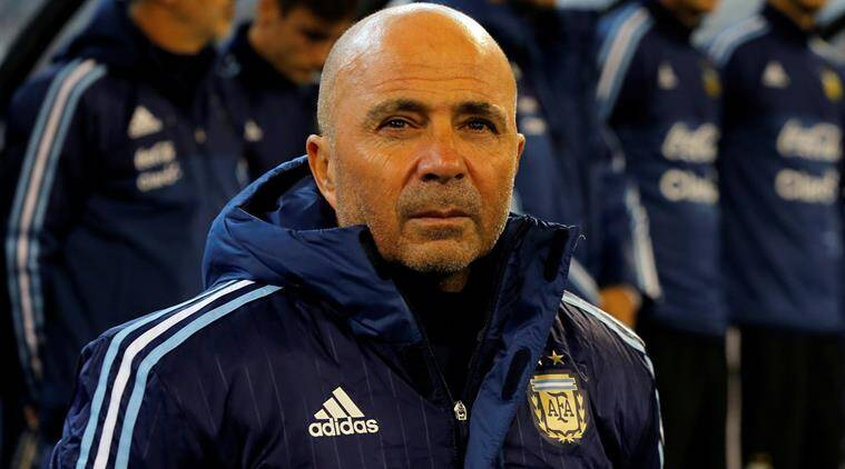 Jorge Sampaoli stands down as Argentina coach after World Cup failure