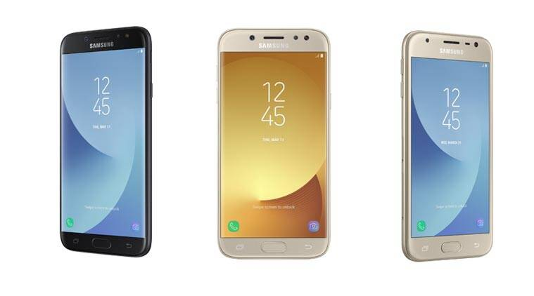 Samsung Galaxy J7 2017 J5 2017 And J3 2017 With Android 7