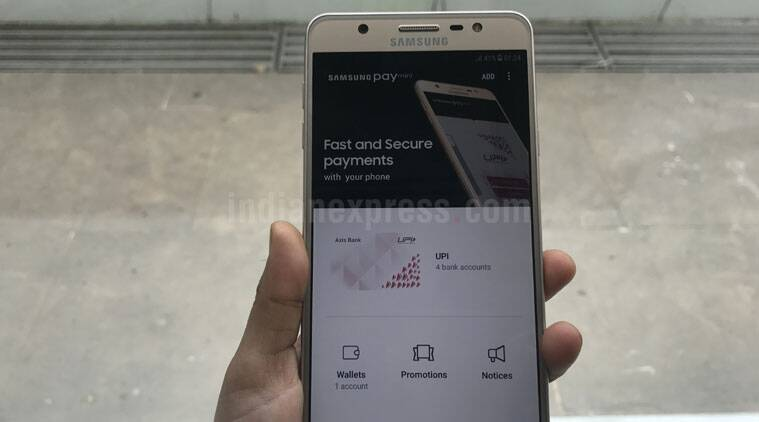 Samsung, Samsung Pay, Samsung Pay Mini, Samsung Pay on J series, J7 Max, J7 Pro, Samsung Pay use, What is Samsung Pay, Apple Pay, mobiles, smartphones