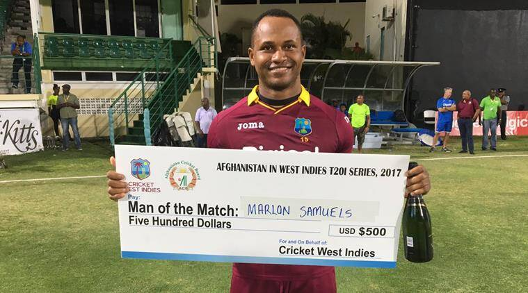 west indies vs afghanistan, marlon samuels, cricket news, indian express