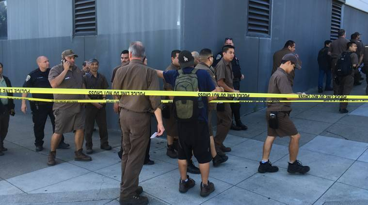 Panicked UPS workers flee California gunfire that killed 4