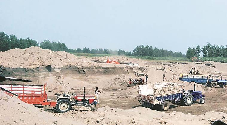 To crackdown on illegal mining, Punjab Chief Minister Captain Amarinder Singh on Saturday ordered a total ban on mining from 7.30 pm to 5 am.