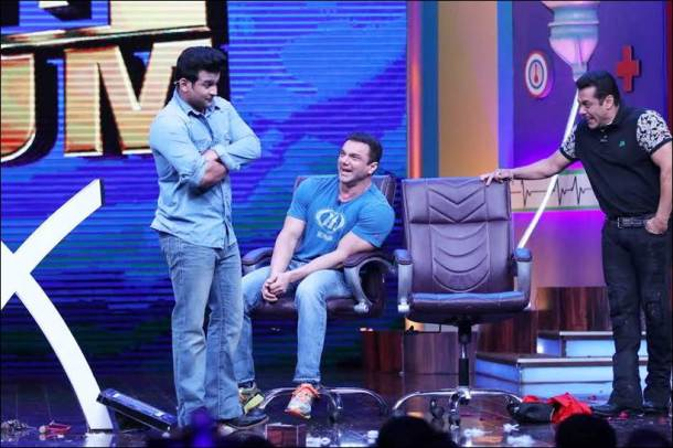 sanket bhosale, sanket bhosale supernight with tubelight, sanketbhosale salman khan, salman khan image