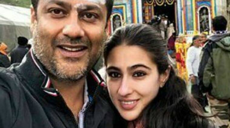 Abhishek Kapoor and Sara Ali Khan seek blessings at Kedarnath temple