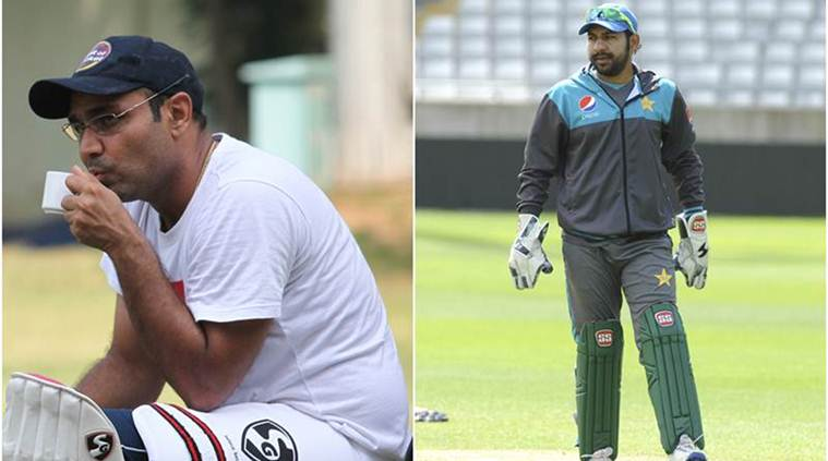 Virender Sehwag, Sarfraz Ahmed, Indian Express