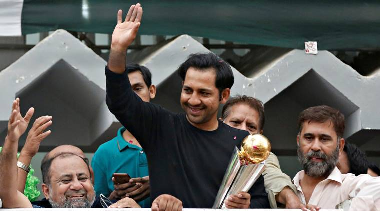 sarfraz ahmed, pakistan, pakistan cricket, champions trophy