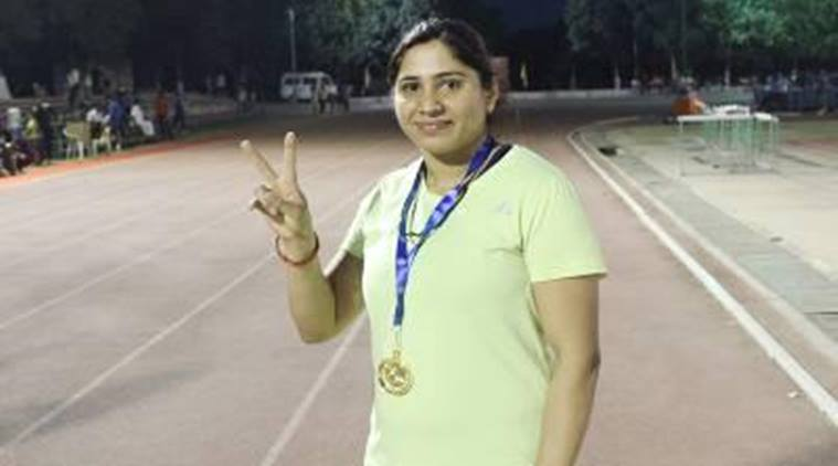 Image result for Federation Cup Athletics: One-time jumper, Sarita Singh sets national record in hammer throw\