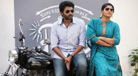 Sathriyan movie, vikram prabhu, manjima mohan, sathriyan movie review,