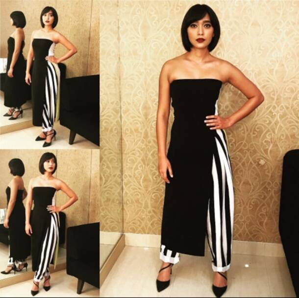 Deepika Padukone, Priyanka Chopra, Katrina Kaif, Sayani Gupta, Aditi Rao Hyadri, bollywood divas in stripes, bollywood fashion, bollywood style, indian express, indian express news
