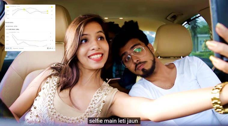 dhinchak pooja, dhinchak pooja earnings, selfie maine le li aaj, dhinchak pooja selfie song, dhinchak pooja views, dhinchak pooja youtube, dhinchak pooja trolls, indian express, indian express news