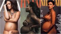 After Serena Williams' magnificent pregnant cover creates waves; see these 5 other photo shoots