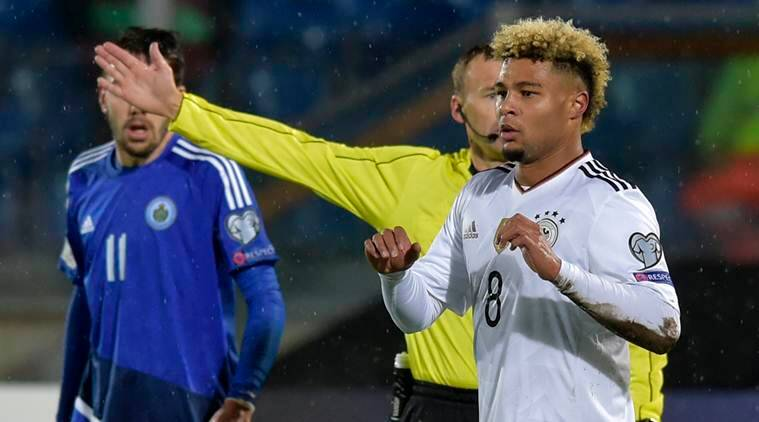 Serge Gnabry criticised by Werder Bremen chairman over decision to leave