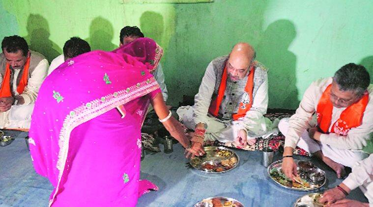 Amit Shah, Amit Shah Gujarat visit,  BJP targets Gujarat tribal voters, Gujarat Assembly elections