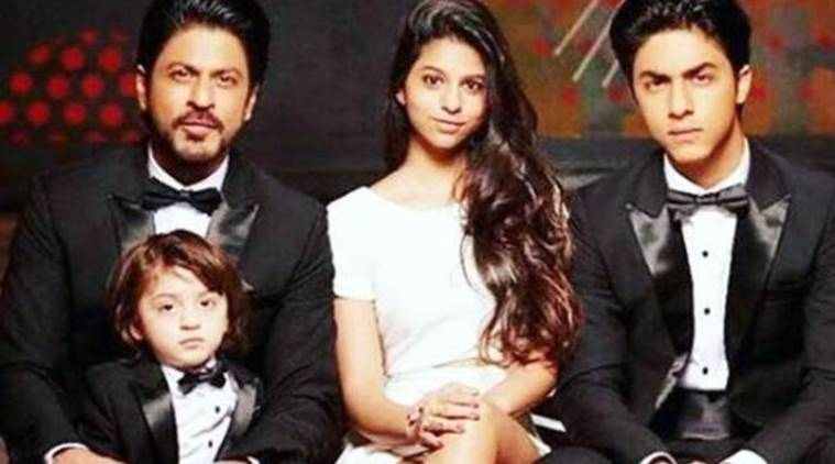 shah rukh khan, aryan khan, suhana khan, abRam, shah rukh khan on kids, suhana khan wants to be actor, shah rukh abram, shah rukh suhana