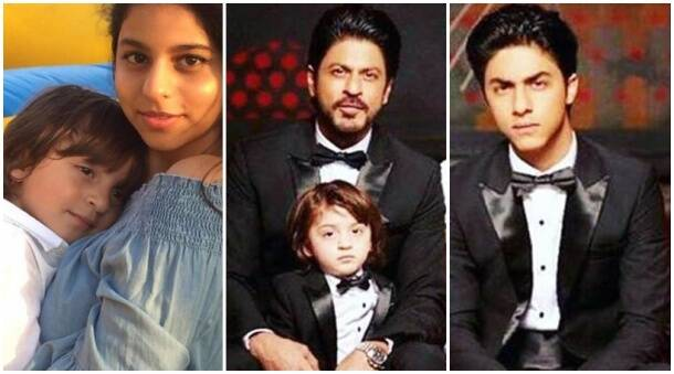 Shah Rukh Khan and his son AbRam rule the internet and we know why. The father-son duo have always managed to make us weak in the knees when we see adorable photographs of them. It could be at a cricket match, or it could be SRK trying to be the Spider-Man for his son. Both are equally adorable. When it comes to Suhana, the actor is even writing a book for her and we are curious to know what he has to tell her about the world of cinema. His equation with his elder son Aryan Khan has become visibly friendly.