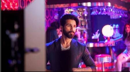 Shahid Kapoor poses in a bar and we can vouch it is his most dapper look ever. Seephoto