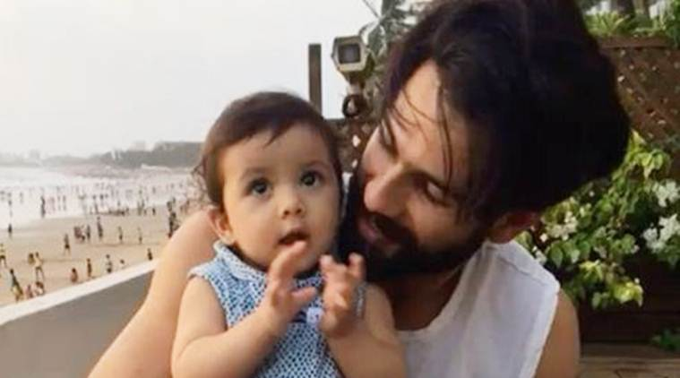 Shahid Kapoor's daughter Misha learning to clap is an adorable sight