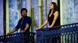 Anushka Sharma and Shahrukh Khan are on cloud nine