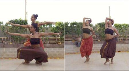 shape of you, shape of you classical version, shape of you choreography, sakti mohan, shape of you carnatic version,