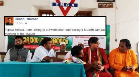 'Typical Kerala' — Shashi Tharoor's witty Facebook commentary on 'the most secular picture of recent times' is goingviral