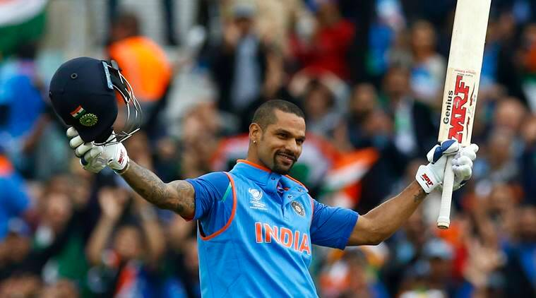 Shikhar Dhawan, Shikhar Dhawan batting, Shikhar Dhawan runs, Shikhar Dhawan century, India vs Sri Lanka, sports news, cricket, Indian Express