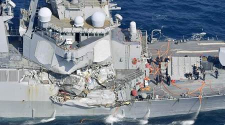 7 Navy crew missing, skipper hurt after collision offJapan