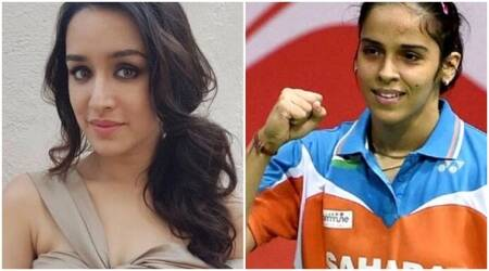 Shraddha Kapoor begins preparing for Saina Nehwal's biopic, picks up the badminton racket. See photo