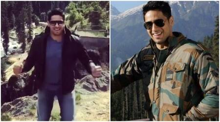 Aiyaary: Sidharth Malhotra visits Betaab Valley in Kashmir, does Sunny Deol's iconic step. Watch video