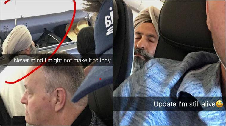 this racist snapchat story of a sikh man mistaken for