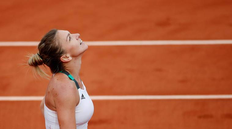 Simona Halep, French open 2017, Indian Express