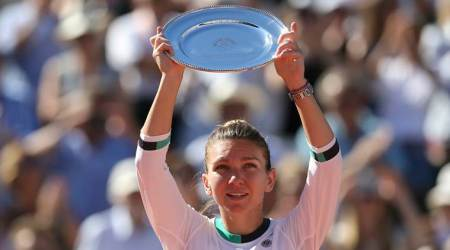Simona Halep, Aegon International, Indian Express