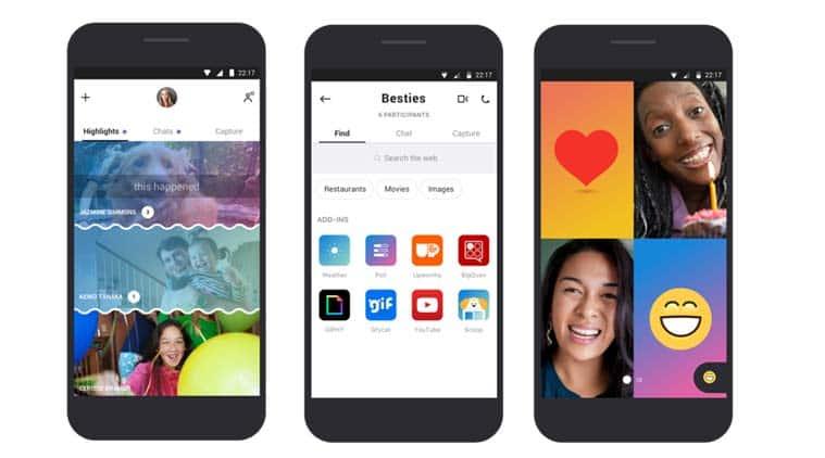 Skype, Skype app, Microsoft, Skype redesign, Skype Microsoft, Skype Highlights, Skype new app, Skype redesigned, Skype vs Snapchat