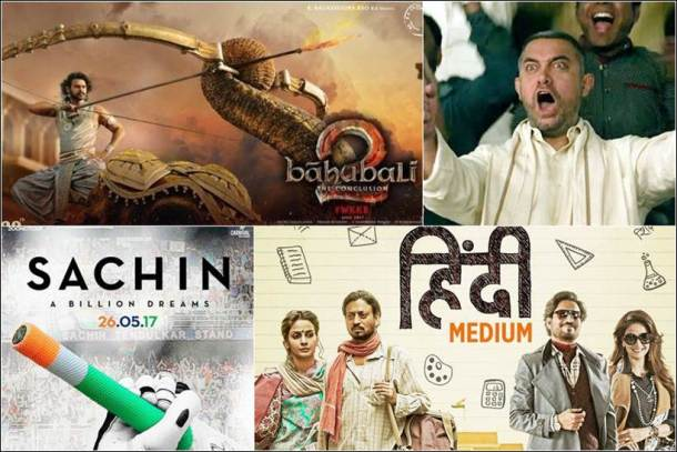 baahubali 2, dangal box office, raees box office, hindi medium box office