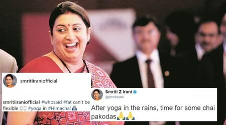 Smriti Irani making 'fat jokes' on herself and then indulging in 'some chai pakodas' is all of us