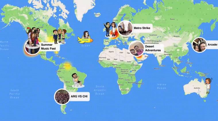 Snapchat, Snap Map, Snapchat Map, Snapchat update, Snapchat new feature