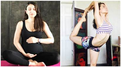 International Yoga Day 2017: Mom-to-be Soha Ali Khan to Kangana Ranaut, here's how B-town stars added their touch to yoga
