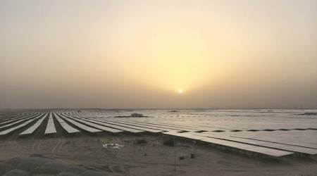 Catching the sun at Bhadla solar park