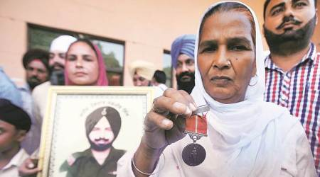 Job to former Punjab CM's grandson angers family of soldiers