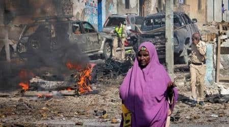 Somalia suicide attack: 7 dead in Mogadishu police stationblast