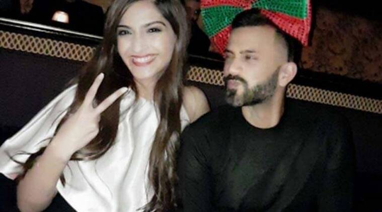 Sonam Kapoor, Sonam Kapoor photos, Sonam Kapoor news, Anand Ahuja, who is Anand Ahuja