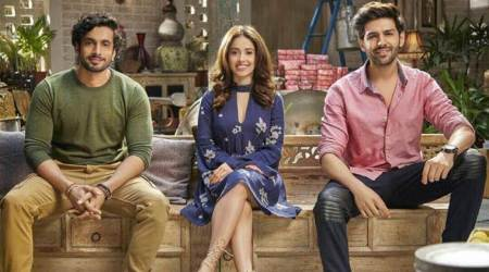Pyaar Ka Punchnama actors Kartik Aryan, Nushrat Bharucha, Sunny Singh team up again for Sonu Ke Titu Ki Sweety. Watch video