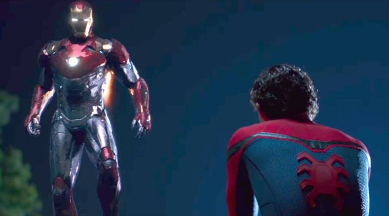 Iron Man in Spider-Man: Homecoming