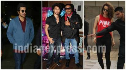 Tiger Shroff wraps up Munna Michael, Anil Kapoor and Kangana Ranaut carry their swag around Mumbai, and more