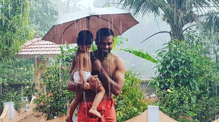 pr sreejesh, hockey, goalkeeper, sreejesh becomes father, Aneeshya, sports news, indian express