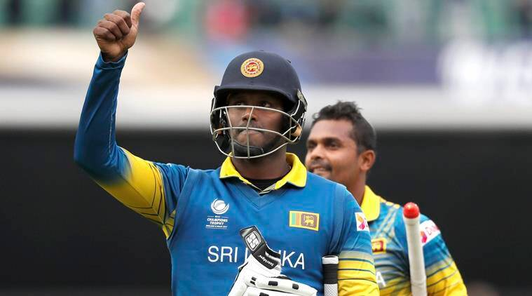 angelo mathews, sri lanka cricket, sri lanka vs zimbabwe, sl vs zim, cricket news, indian express