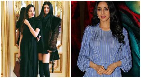 MOM actor Sridevi looks as young as daughters Jhanvi and Khushi. Here are her ageless photos