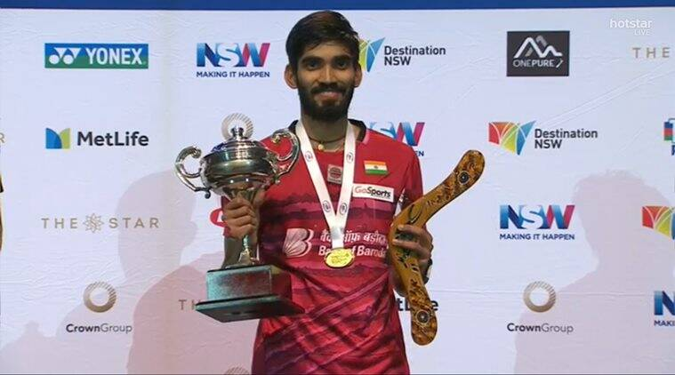 kidambi srikanth, australian open super series, kidambi srikanth super series titles, chen long, badminton news, sports news, indian express